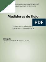 F.2. Medidores de Flujo