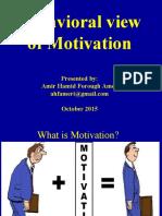 behavioral-view-of-motivation-160214203135