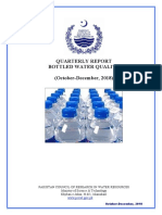 Bottled Water Report (Oct-Dec 2018) Final