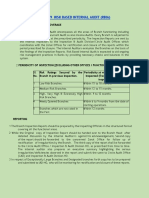 IAL-9 Risk Based Internal Audit