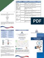 Brochure de la Carta Compromiso al Ciudadano de la DIGIEG