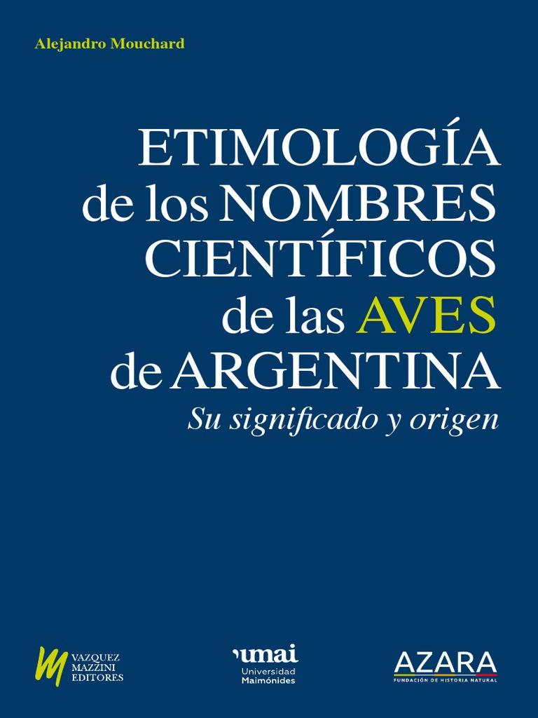 Alexa Fede Y La Cornuda Maria Se Masca La Tragedia etimologia-de-aves | taxonomía (biología) | sustantivo