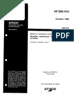 NF E85-010-echelles