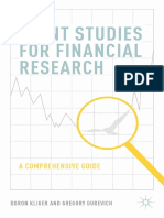 Doron Kliger, Gregory Gurevich (Auth.) - Event Studies for Financial Research_ a Comprehensive Guide-Palgrave Macmillan US (2014)