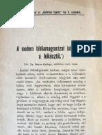 Boros György - modern bibliamagyarázat