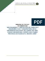 3.3.3.1. MEMORIA DE CALCULOS DE ILUMINACION