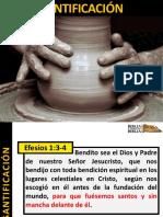 Doctrina de la Santificación