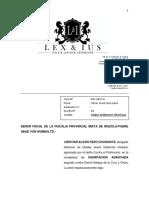 VARIACION DE DOMICILIO FISCALIA
