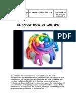 Documento el Know How de las IPS