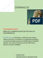 PSICOFÁRMACOS