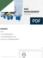 RISK MANAGEMENT4444
