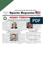 December 25 - 31, 2019  Sports Reporter