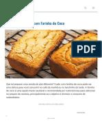 7 Receitas de Pão com Farinha de Coco - MundoBoaForma.com.br
