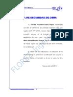 CARTA DE SEGURIDAD DE OBRA.doc