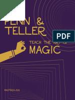 [ FreeCourseWeb.com ] Penn & Teller MasterClass Workbook.pdf