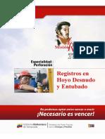 Registros en Hoyo Desnudo y Entubado (CIED)