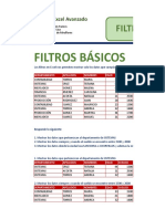 Filtros Basicos y Avanzados