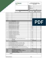 Hose reel Irrigation Schedule(Potato)