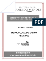 Metodologia Do Ensino Religioso