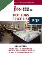Allstate Home Leisure Price List