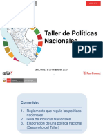 Presentación_Taller Políticas Nacionales