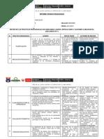 Informe Técnico Pedagógico 2019