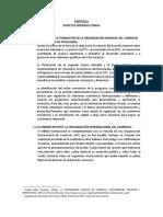 OMC - ANTEDENTES Y DEFINICION