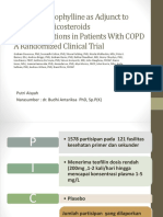 PDF PPT Jurnal Asma PPOK dr. Putri - Effect of theophyllines as adjunct to inhaled corticosteroids on excacerbations inpatients with COPD