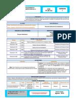 1. Procedimiento de limpieza y desinfeccion de ambulancia