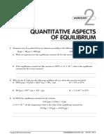 Quantitative equilibrium calculations