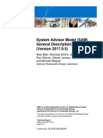 System Advisor Model (SAM) General Description (Version 2017.9.5)