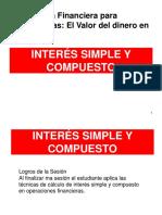 PPT INTERÉS SIMPLE Y COMPUESTO Freddy Silva - UPC