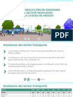 NUEVA REGLA DE CIRCULACIÓN CDMX 2020 - Plan Reducción de Emisiones