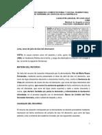 Cas.-Lab.-11068-2018LP- en que casos de dar informacion falsa al empleador justifica el despido