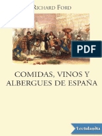 Comidas vinos y albergues de Espana - Richard Ford