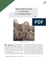Artículo -Algunos Ingenios del Agua en la Prehistoria y Mundo Antiguo (Edita Sociedad Esp.de Hist.y Arqu.2008) Español.pdf