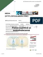 Fizica cuantică și autovindecarea   Oficial Media