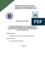 ACTITUDES EMPRENDEDORAS EN ESTUDIANTES PROYECTO FINAL MEJORADO