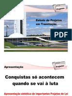 Estudo sobre Projetos Parados no Congresso Nacional