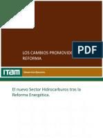 Los cambios promovidos por la Reforma ITAM