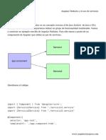Angular Modules y el uso de servicios