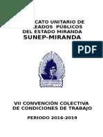 CONTRATO COLECTIVO 2016-2019