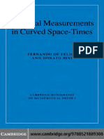 (Cambridge Monographs on Mathematical Physics) de Felice F., Bini D. - Classical Measurements in Curved Space-Times-CUP (2010).pdf