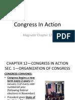Congreso en acción