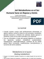 Regulación del Metabolismo en el ser humano sano (1)
