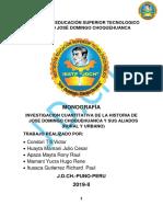 MONOGRAFIA DE JOSE DOMINGO CHOQUEHUANCA(1)