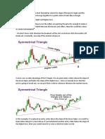 Chart Patterns and Pivot Points