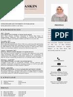 CV Magang