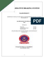 Renegerative Braking System