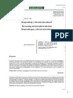 bioaprendizaje y educacion intercultural
